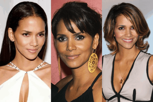 Collage of Halle Berry