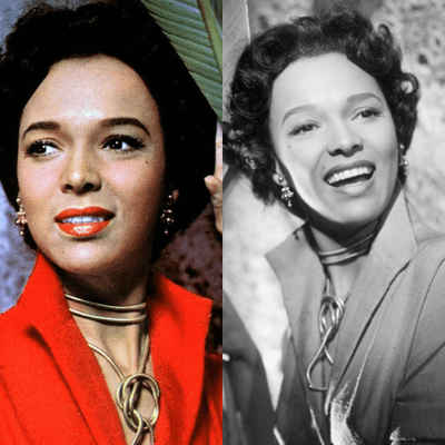 Collage of Dorothy Dandridge