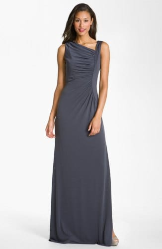 Assymetrical Jersey Gown