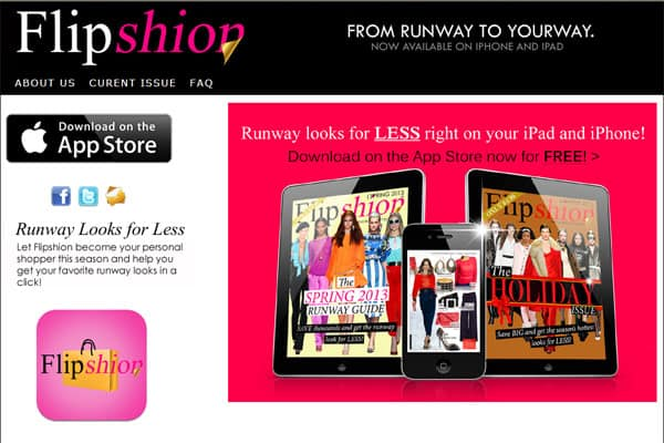Site Review: Flipshion Lets You Shop Runway Looks at Half the Price… Right On Your Phone!