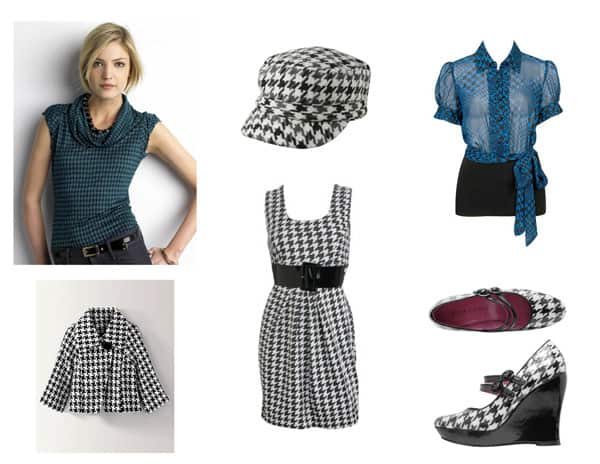 Fashion Trend: Houndstooth Print