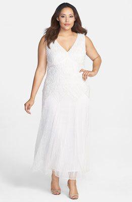 Pisarro Nights Embellished V-Neck Long Dress