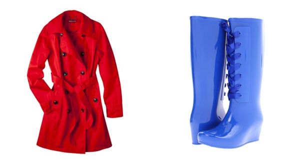 No More Shades of Gray: 10 Bright & Playful Rainy Day Fashion Suggestions