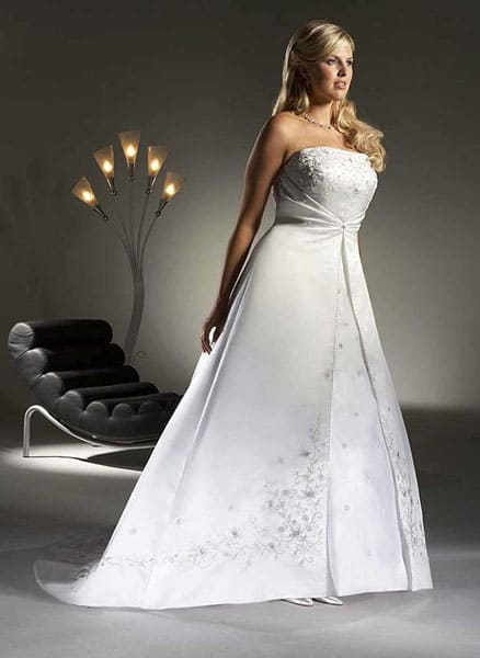 3 Places to Find Cheap Plus Size Wedding Dresses