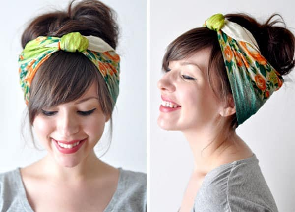 Spring 2013 Hair Trends: Scarves Are Every Low-Maintenance Gal's Mane BFF. Here's Why.