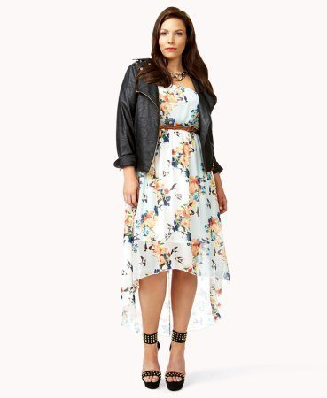 Forever 21 floral plus size