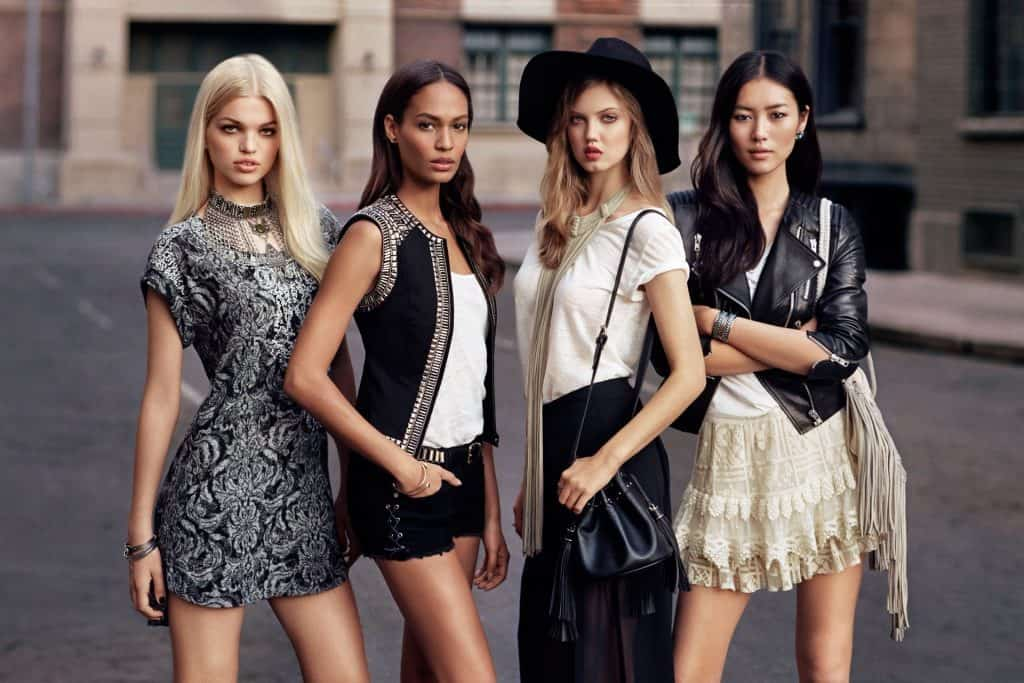 H&M's New Collection: Models Off Duty Style