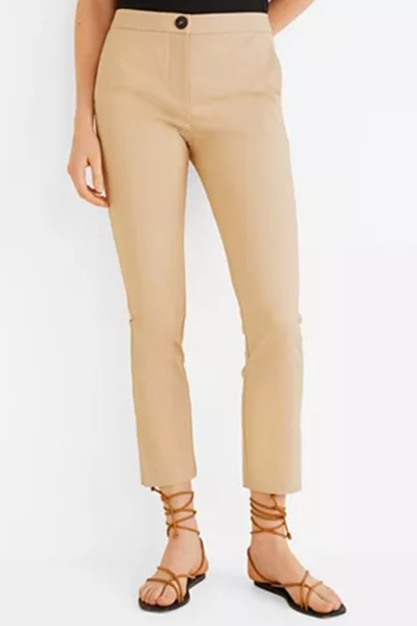 Cotton pants from Mango