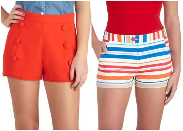 Modcloth Cute Summer Shorts - Budget Fashionista