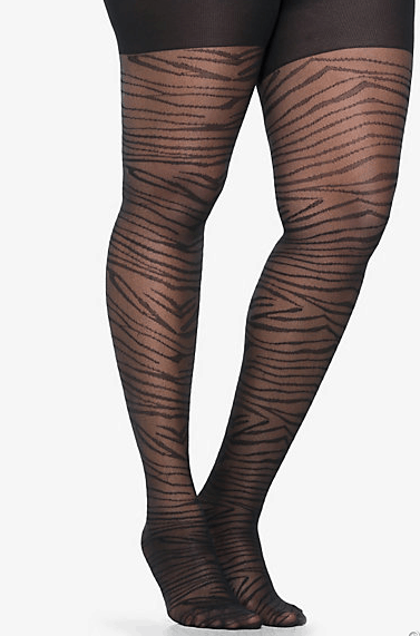 plus size tights