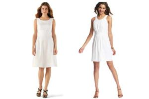 Little White Dresses for Summer