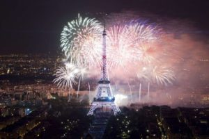 Eiffel Tower Bastille Day