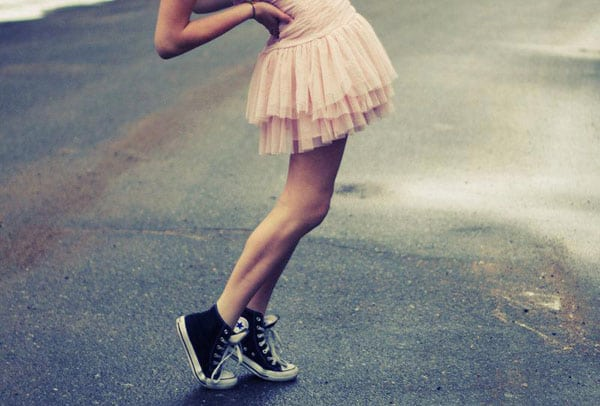 The Best Ways for Us Girls to Wear Converse