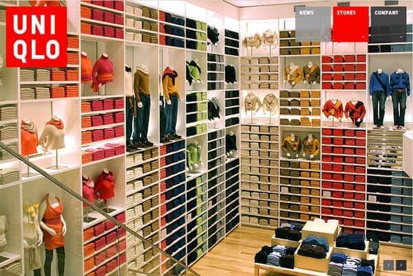 Inside Uniqlo Store