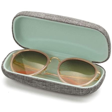 Gray hardshell case