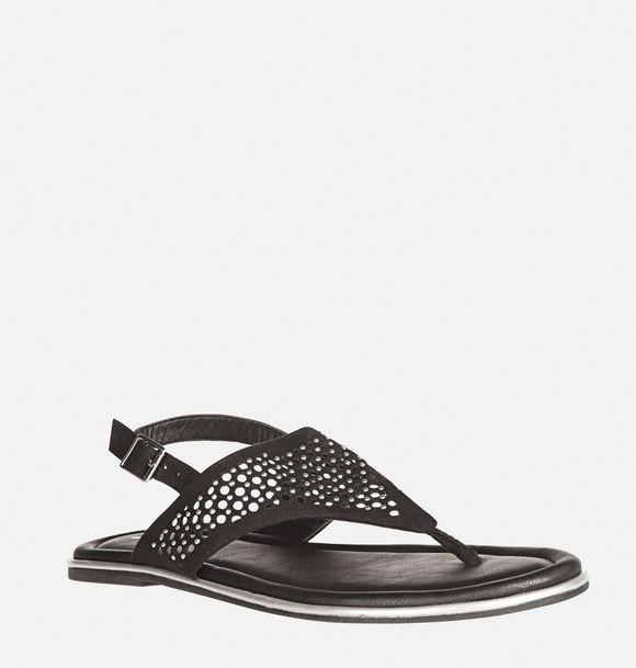 cutout flip flop sandal