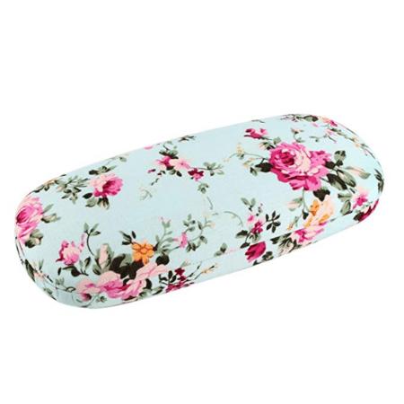 Floral eyeglass case