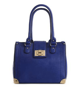 Structured Turn Lock Tote, $69.95 available at dsw.com/
