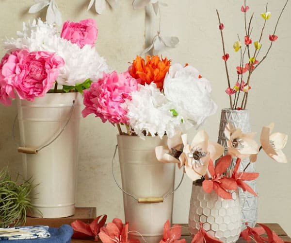 Bucket Vases