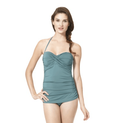 Clean Water Women's 1-Piece Swim Dress, $20 available at target.com