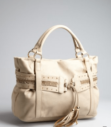 Big Buddha oversized tote bag, $64 available at bluefly.com