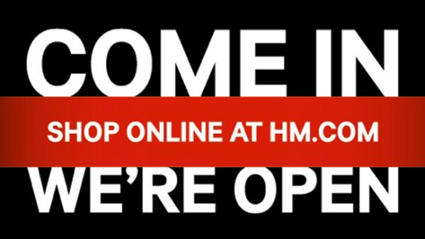 H&M Online Shop Finally Opens in the US