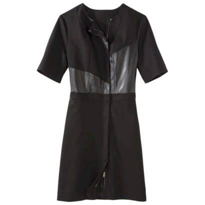 Black mixed media dress by Philip Lim for Target