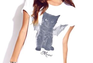 Batty Cat Tee