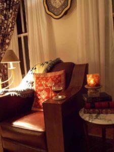 Courtney Lochner Leather Chair