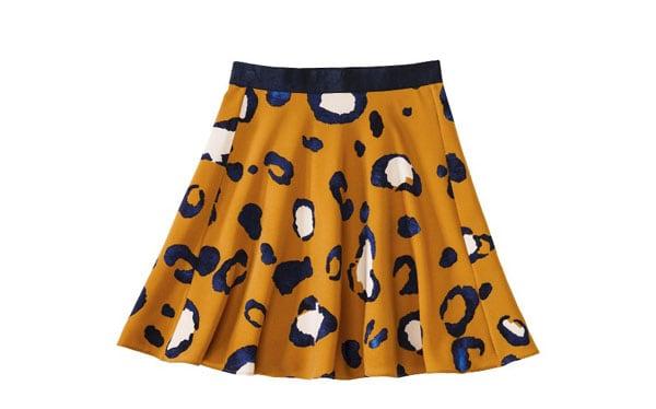High Hemline Skirt
