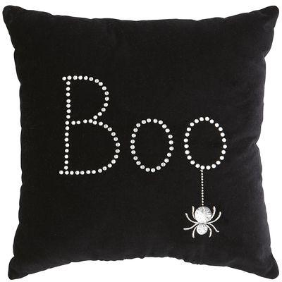 Boo Halloween pillow