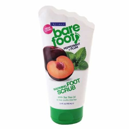 Warming foot scrub
