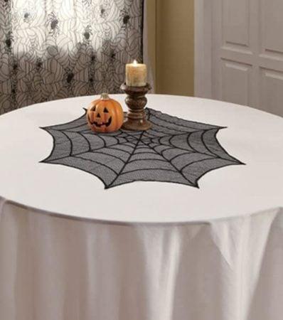 Halloween round topper