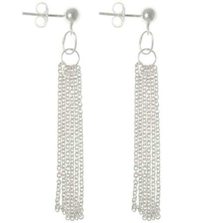 Dangly chain earrings