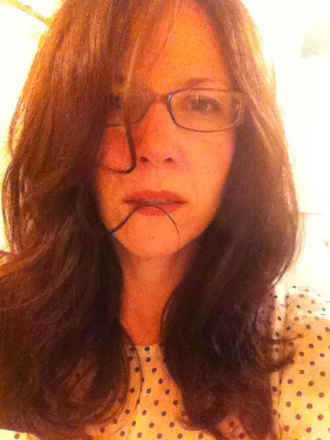 Long hair pet peeve #2,421: strands getting stuck in lip gloss.