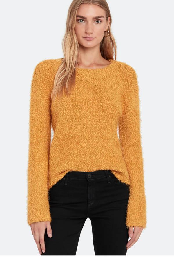 Yellow sweater from BB Dakota