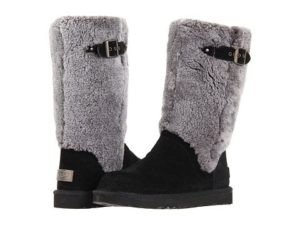 Nasty gal shoes:  She wore those apple bottom jeans and those boots with the fur . . . ahem.