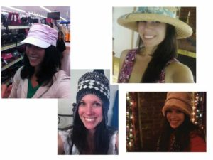 Yes, I take selfies. Hat selfies are just the beginning.