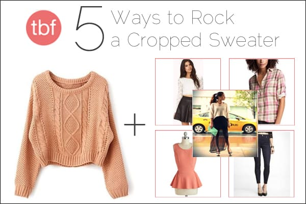 Cropped Sweater: How To Wear It