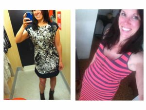 Dress selfies to help make fashion decisions.