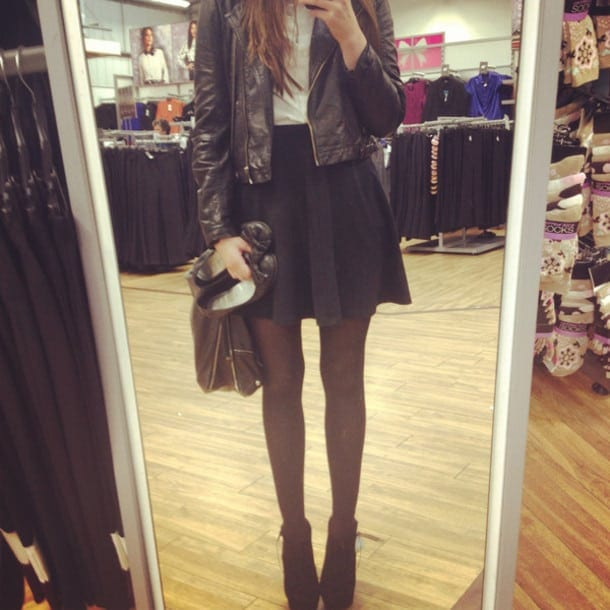 zoq3db-l-610x610-skirt-pleated-skirt-skater-skirt-leather-jacket-tights-shoes-clothes-jacket