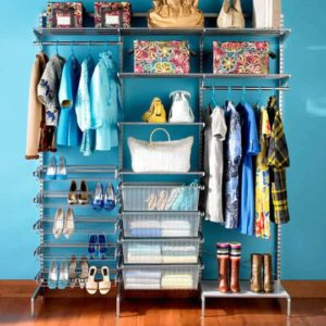 Lowes-Closet-Organizers-Blue-Wall