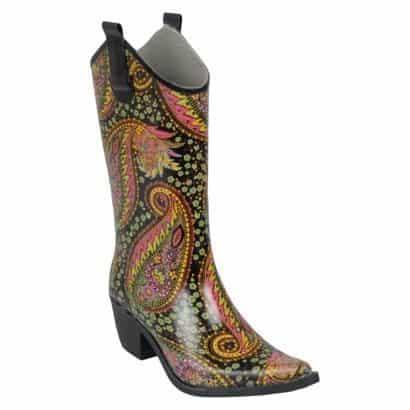 paisley cowboy boot