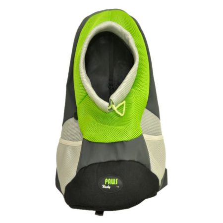 Green and black pet carrier