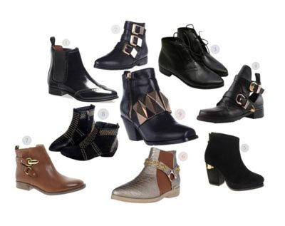 Polyvore Ankle Boots