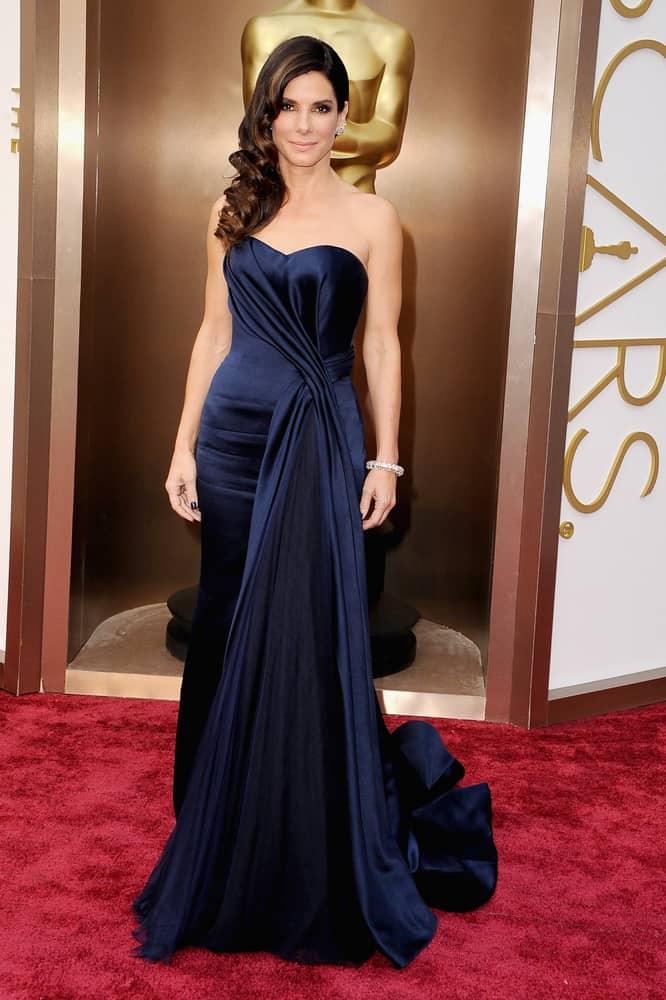 Sandra Bullock at the 2014 Oscars