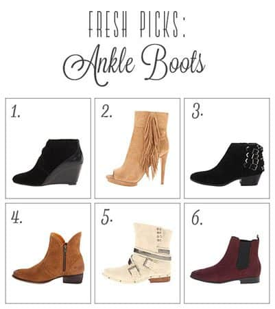 Zappos Ankle Boots