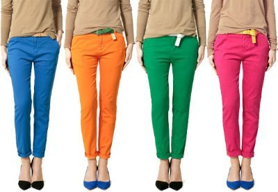 Color blocked outfits