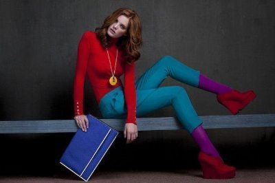 Color blocked outfit