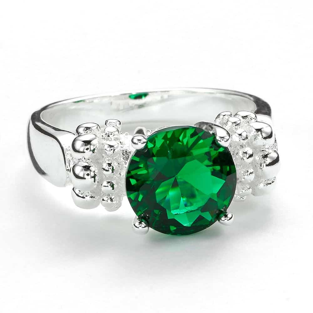 Green Bling: Sparkle in St. Patrick's Day Cocktail Rings